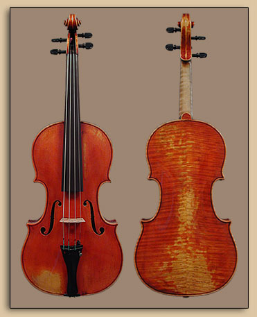 Violin 1994, Copy of Jean Jacques Thibout 1810
